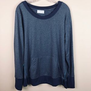 Aspire sweater with side zip